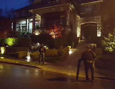 Outdoor Lighting In Federal Way Seattle Wa